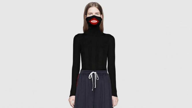 Desain sweater Gucci yang menyerupai blackface tuai kecaman.