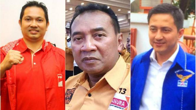 Trio juara dunia bulutangkis bersaing dalam Pemilihan Legislatif 2019