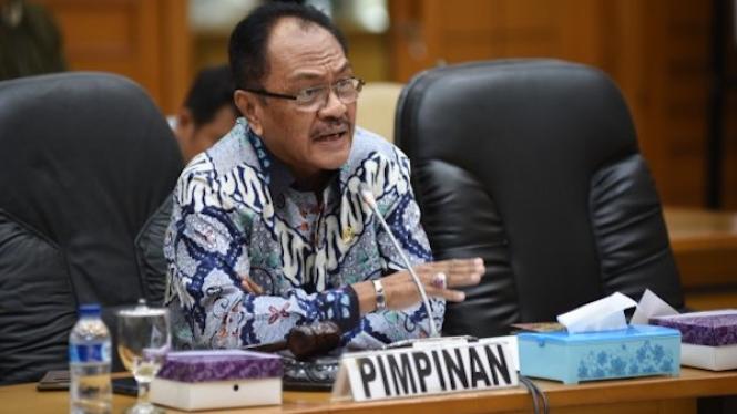 Ketua Pansus RUU Daerah Kepulauan DPR RI Edison Betaubun.