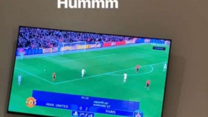 Unggahan olok-olok winger Liverpool, Sadio Mane, buat Manchester United