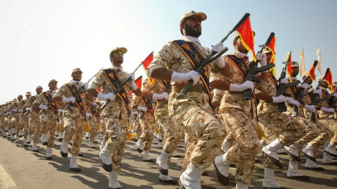 Pengebom Bunuh Diri Sasar Garda Revolusi Iran
