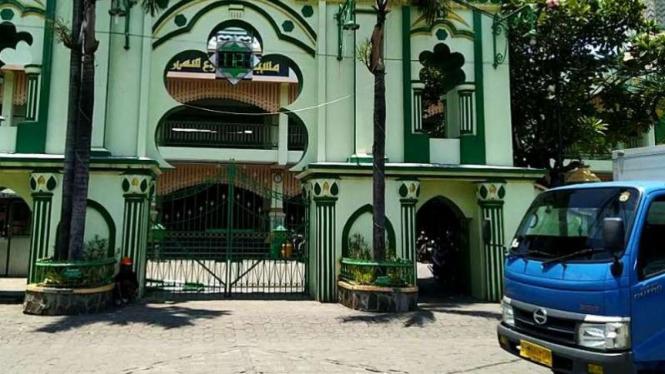 Masjid Kauman di Semarang, Jawa Tengah.