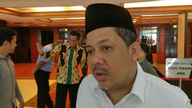 Eks Wakil Ketua DPR RI, Fahri Hamzah.