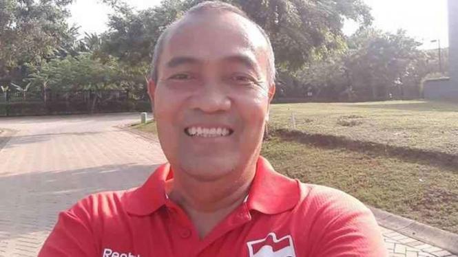 Mantan sprinter Indonesia, Purnomo Muhammad Yudhi.