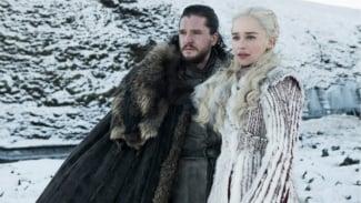 Jon Snow dan Daenerys Targaryen dalam Game of Thrones Season 8.