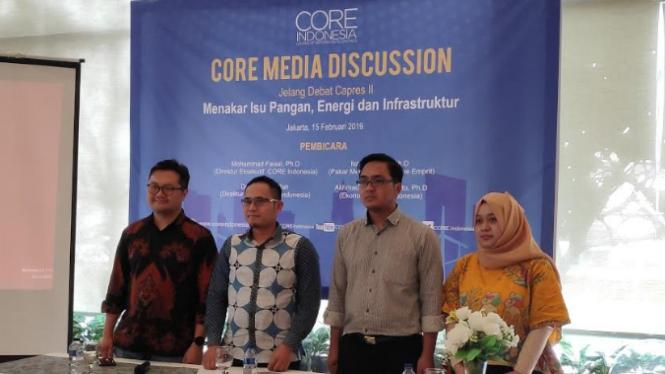 Seminar Core Media Discussion soal isu debat putaran kedua