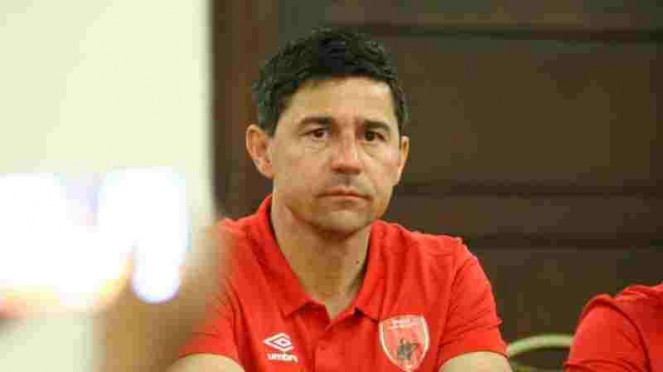 Pelatih PSM Makassar, Darije Kalezic.