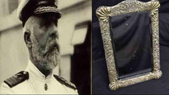 Kapten Edward John Smith dan cermin peninggalannya.