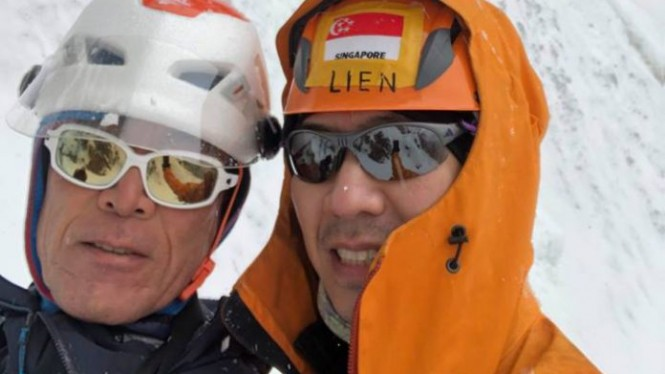 Pendaki Gunung Everest Ini Jadi Gm Gojek Singapura