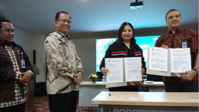 Poltekpar menandatangani MoU dengan PT JSC