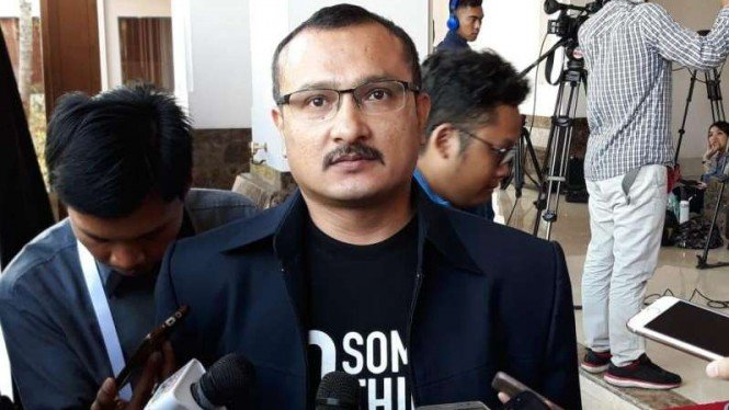 Anggota BPN Prabowo-Sandiaga, Ferdinand Hutahean.