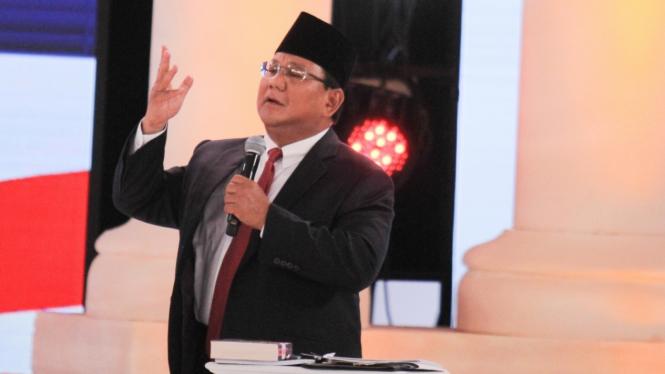 Prabowo, Debat Kedua Capres 2019
