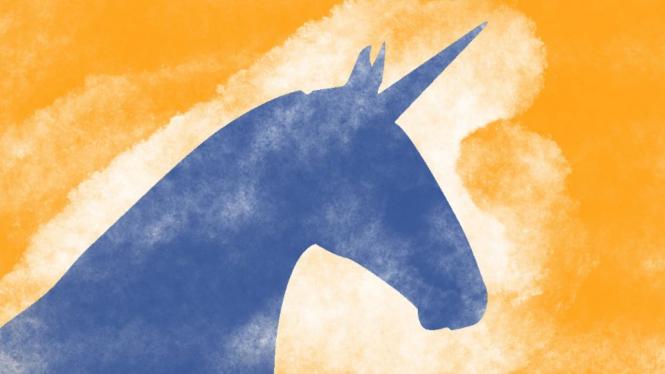 Ilustrasi unicorn.
