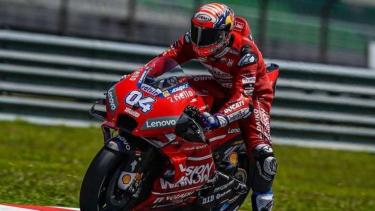 Pembalap Mission Winnow Ducati, Andrea Dovizioso