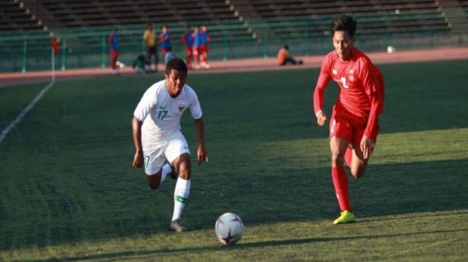 Timnas U-22 vs Myanmar U-22