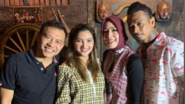 Anang Hermansyah dan Jerinx SID akhirnya bertemu.