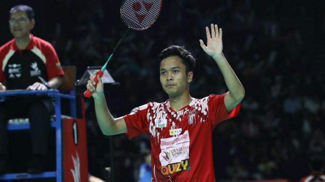 Tanding Di Superliga, Ginting Kenang Memori Indah Kota Bandung