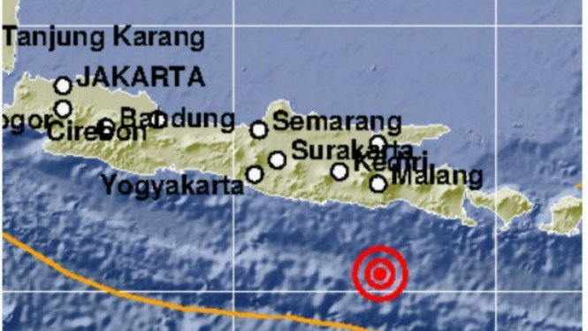 Gempa Malang 5,6 SR