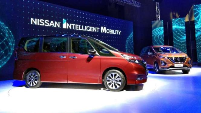 Peluncuran All New Nissan Serena dan All New Nissan Livina di Jakarta