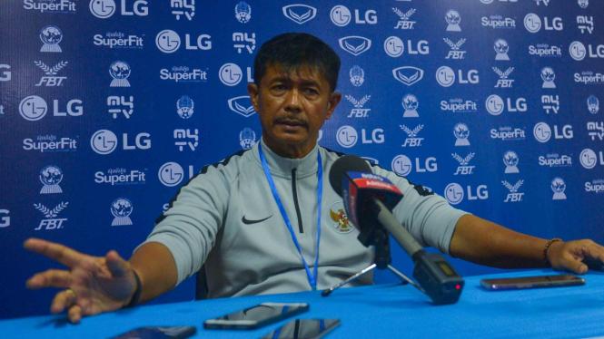 Timnas U-22 Gagal Menang Lagi, Indra Sjafri Berkelit