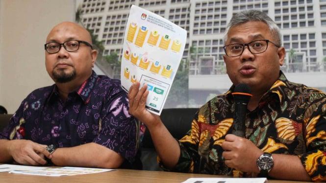 KPU Akan Tetapkan Hasil Pemilu pada 25 Mei