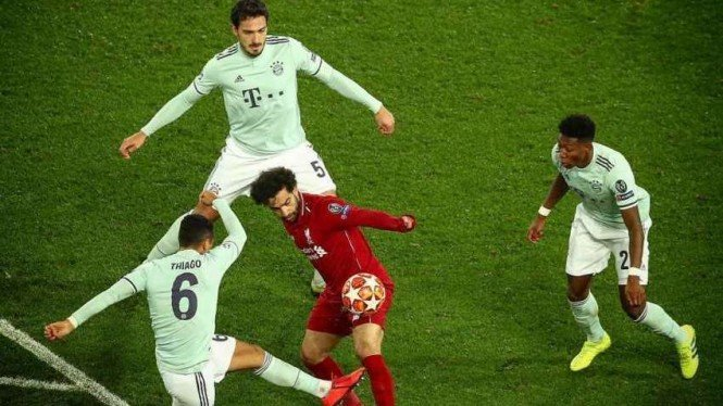 Kunci Sukses Bayern Tahan Imbang Liverpool Di Anfield
