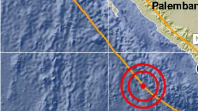 Gempa di Bengkulu