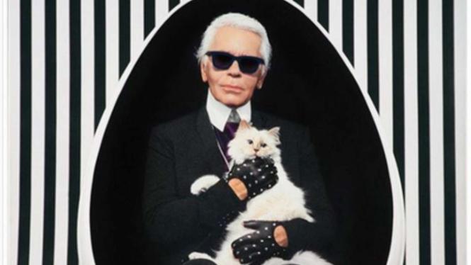 7 Hal Unik Tentang Desainer Nyentrik, Karl Lagerfeld