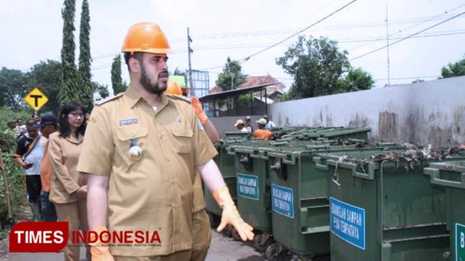 Wali Kota Probolinggo Berang Lantaran Sampah