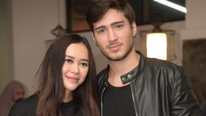 Aura kasih dan suami, Eryck Amaral