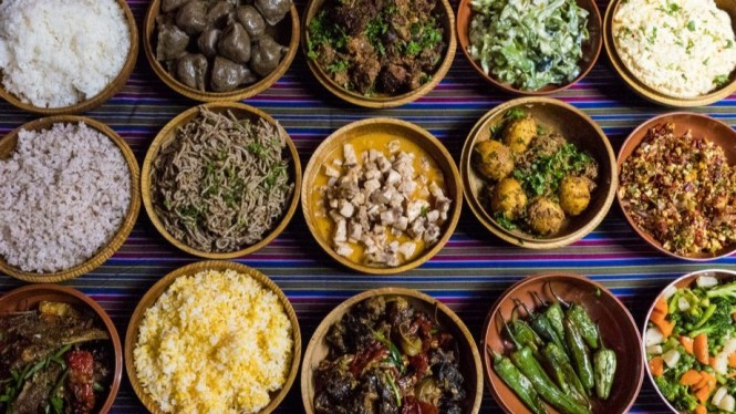 Makanan Khas Bhutan.