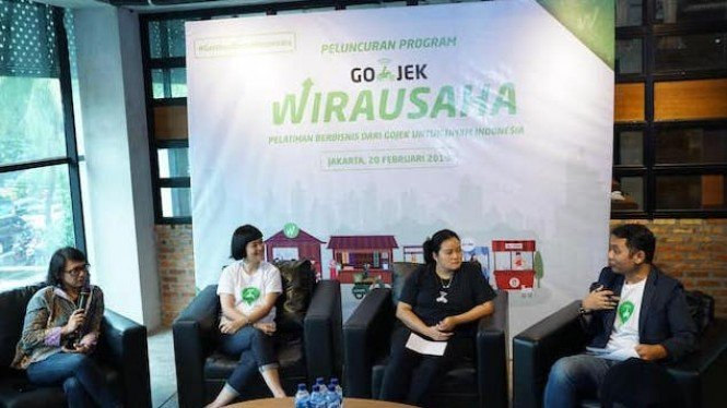 Program Gojek Wirausaha.
