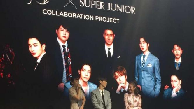 Leeteuk Super Junior dan Rossa