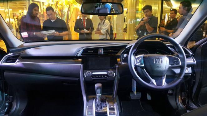 Interior New Honda Civic Turbo 2019