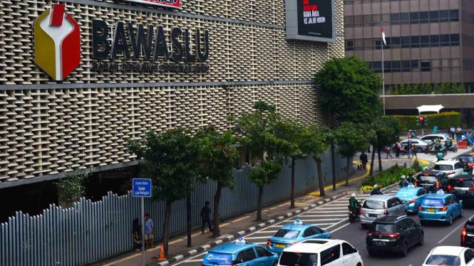 Kantor Bawaslu RI di Jakarta