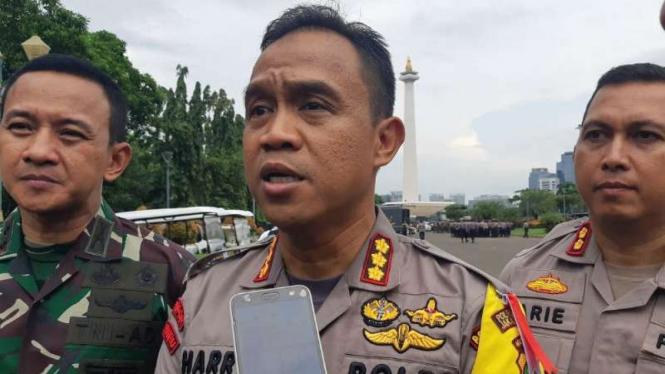 Kapolres Jakarta Pusat Komisaris Besar Polisi Harry Kurniawan.