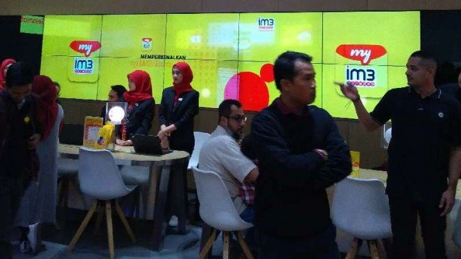Gerai Digital Indosat Ooredoo.