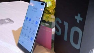 Samsung Galaxy S10 Plus.