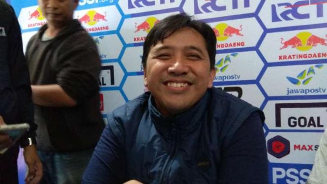Media Officer Arema FC, Sudarmaji.