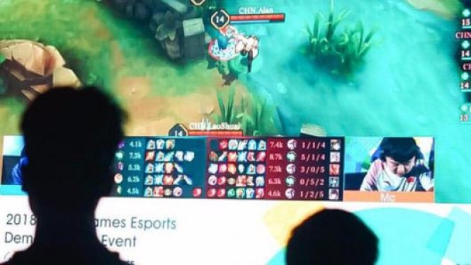 Pertandingan eSports di Asian Games 2018