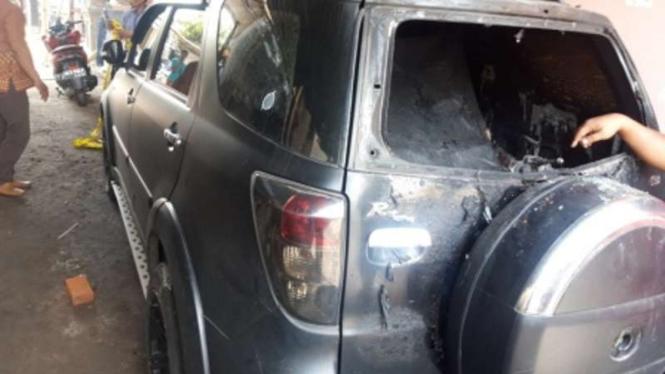Mobil caleg PDIP di Sleman dibakar orang tak dikenal