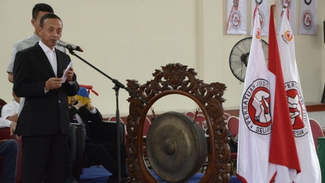 Ketua Umum PB Persatuan Judo Seluruh Indonesia, Jenderal TNI (Purn) Mulyono