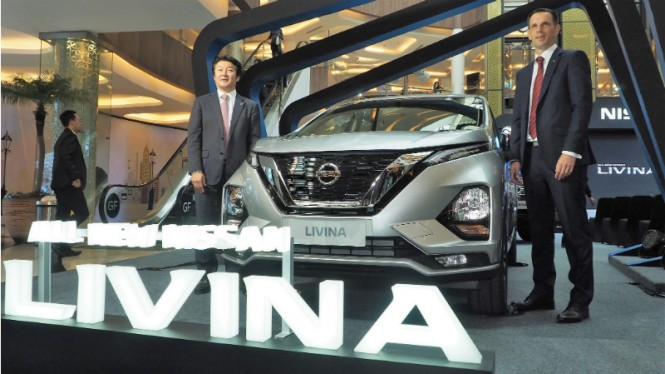 All New Nissan Livina.
