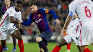 Pertandingan LaLiga antara Barcelona kontra Sevilla