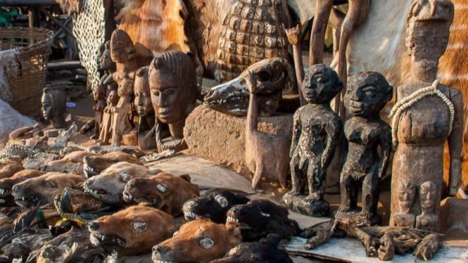 Pasar Voodoo Lome, Togo