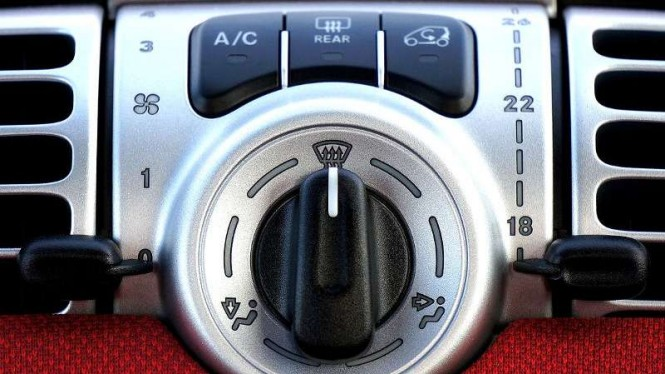 Ilustrasi AC mobil