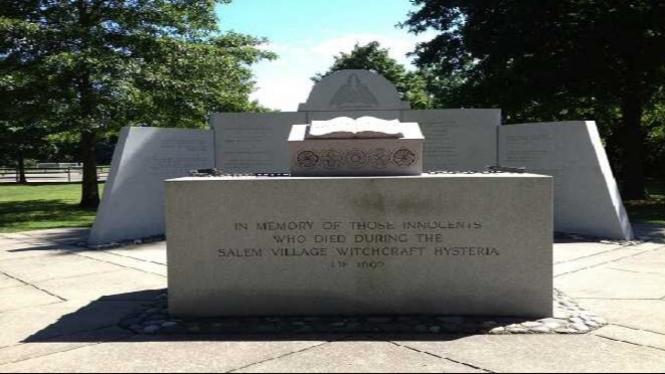Monumen peringatan Salem.