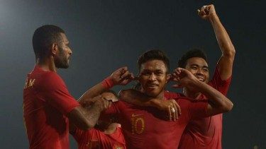 Para pemain Timnas Indonesia U-23