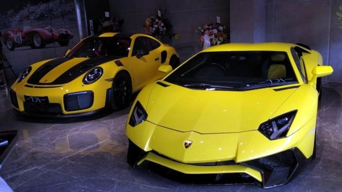 Mobil-mobil Mewah 'Crazy Rich Surabaya' Pindah Parkir ke Kantor Polisi