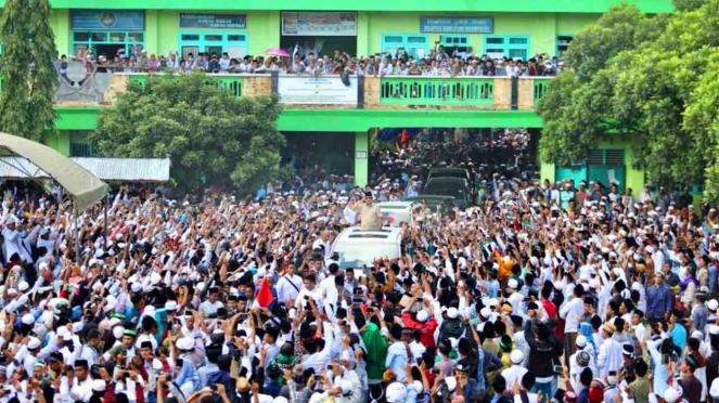 Prabowo Subianto di Pamekasan, Madura